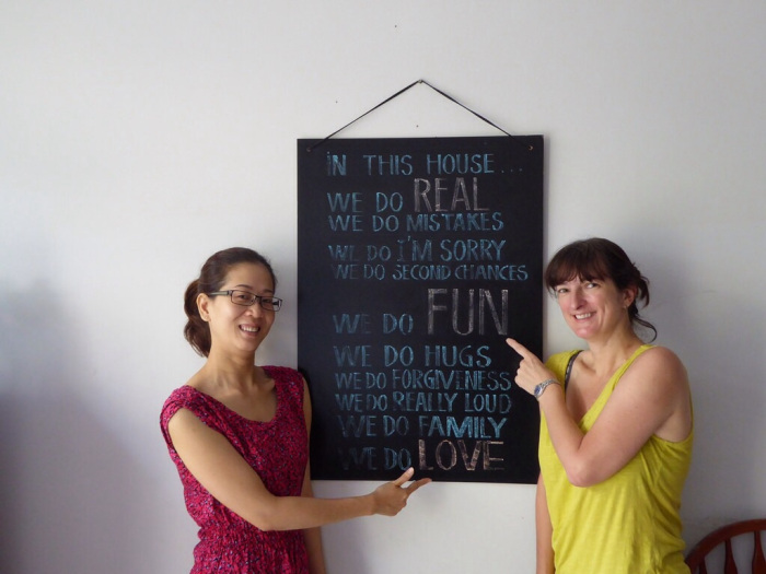 """Ms Yang's """"rules"""" for running her homestay!"""