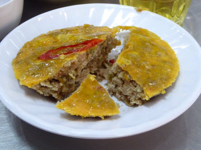 Fermented prawn and pork cake – tastes a lot better than it sounds!