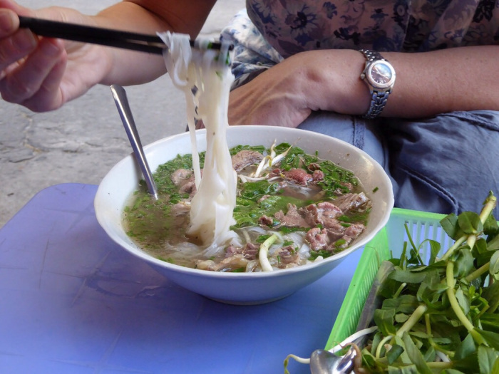 Pho Bo – the best soup in the world. The elixir of life in Vietnam!