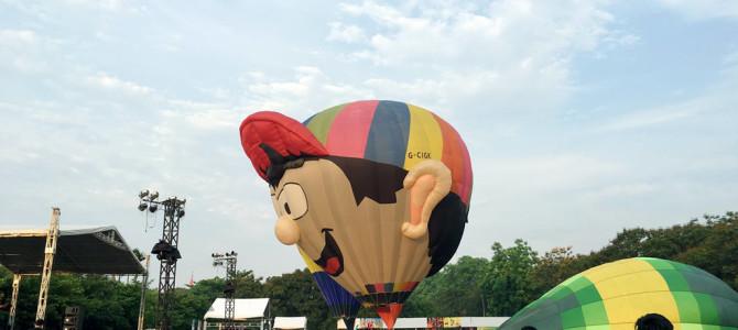 International Balloon Fiesta in Hue